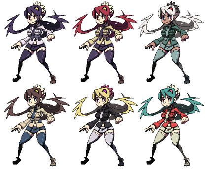 Filia sprites by oh8
