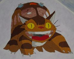 Nekobus from Ghibli ceiling by rufy73
