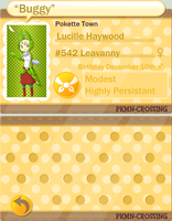 PKMC :: App - Lucille Haywood by Pyracanthii