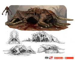 Armadon Corpse Nest for Reavers by NickDeSpain