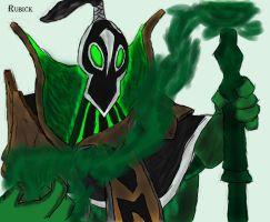 Rubick (from Dota 2) by EngieTheCat