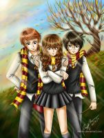 The Golden Trio by rae-shi