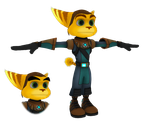 Ratchet and Clank: QfB - Ratchet by o0DemonBoy0o