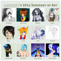 2014 Art Summary by M00SIFER