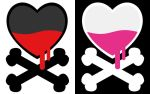 Dying Heart Vector by vollkorndesign