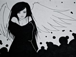 And down the Angel fell by xoxbebecapsxox