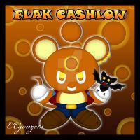 Flak Cashlow the Mouse Chao by CCgonzo12