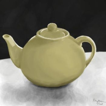 Teapot painting by mechast