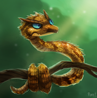 DAY 147. Horned Viper (25 Minutes) by Cryptid-Creations
