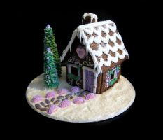 Gingerbread House by Naera