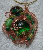 wire pendant 164 by Kimantha333