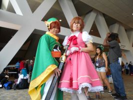 Otakon 2012 - Li Syaoran and Sakura Kinomoto by Angel1224