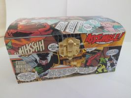Avengers Academy Decoupaged Chest by CraftyGeeks
