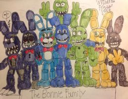 FNAF World: The Bunnies by WitheredFreddy1993