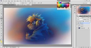 Digital Painting Tutorial - Transparent Layering by Fany001