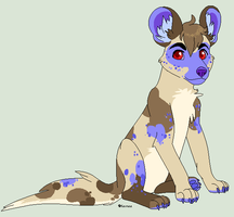 BlueberryWoof Pup by Kainaa