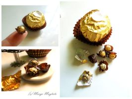 Micromini Ferrero Rocher- Scale by margemagtoto