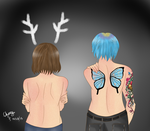 The Deer and the Butterfly by AmaiYuzuki564