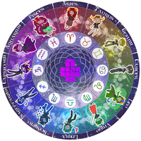Zodiac Troll Wheel by Peach-n-Key
