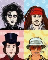 Johnny Depp by saffronscarf