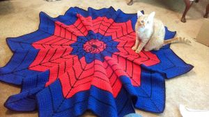 Spiderman Afghan - Complete by NarasinTakemeson