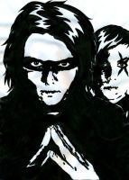 MCR - Gerard and Frankie by weedenstein