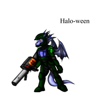 Taz's project: Halo-ween by Snowfyre