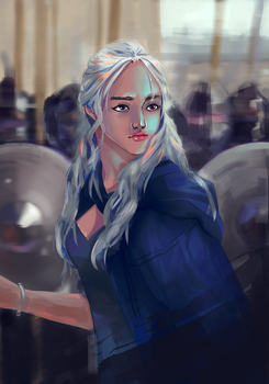 daenerys by shrimparty