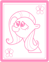 Fluttershy's Picture by CawinEMD