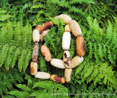 Ogham beads by Spirit Of Old by SpiritOfOld