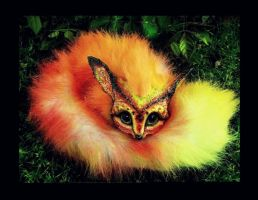 -SOLD- Posable FIRE FOX by Wood-Splitter-Lee