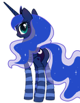Only Luna from Lonely late night watch by Mindmusic