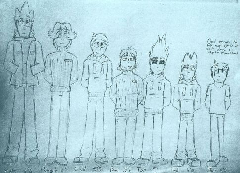 Eddsworld Headcannon Height Chart by JackSkyInTheBox