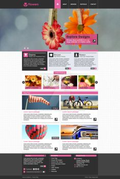 Themerovers Creative Design - Flowers by themerover