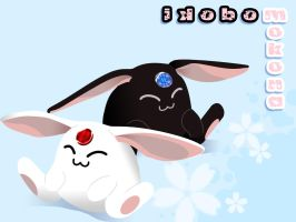Mokona Modoki vector wallpaper by KatHart