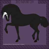 Nordanner Import 219 by Wild-Rose-Ranch