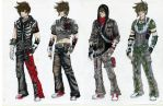 Ryan's Outfits by TrackSurfer