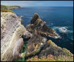 Toe Head Cliffs II by 250981