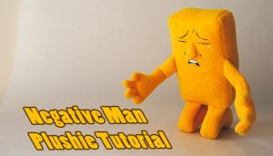 Negative Man plushie tutorial by Eyes5