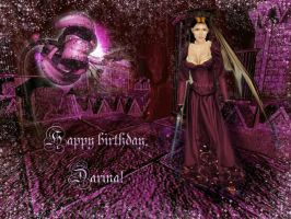 Happy birthday, Darina 2010 by Lirulin-yirth