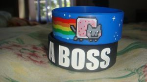 Nyan cat.. LIKE A BOSS. :D by Externity