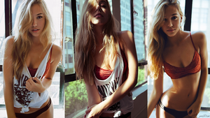 Alexis Ren RedB 1080p Wallpaper by Bears85yemi