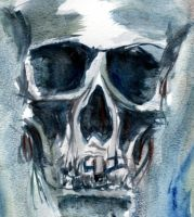 Skull by motherpearl666