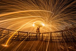 Lasso of Fire by 904PhotoPhactory