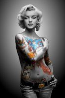 Marilyn INKED by jimmy7291