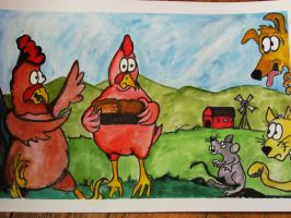 The Little Red Hen by Waddle2u