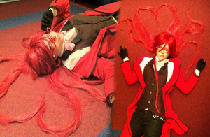 Paint it red - Grell Preview by Erieth