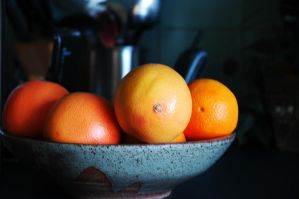 Red Grapefruit by FayetteAethelwyne