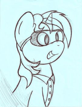 Cosmic Atom - The Science Guy by Commander-Sparkle