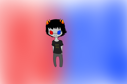 This Sollux killed me halp by BloodedFox